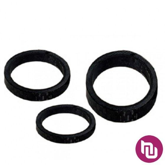 Spacer vilice_alu_crna_5_10mm